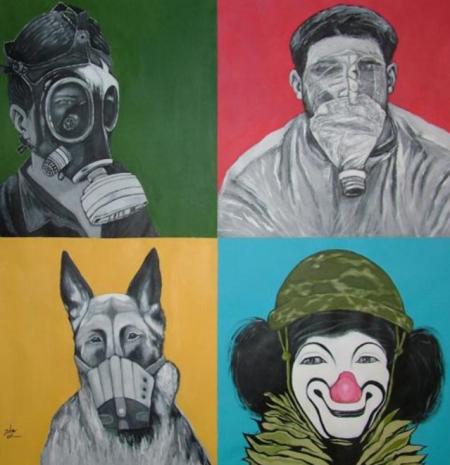 Mohammed Joha_Four Faces