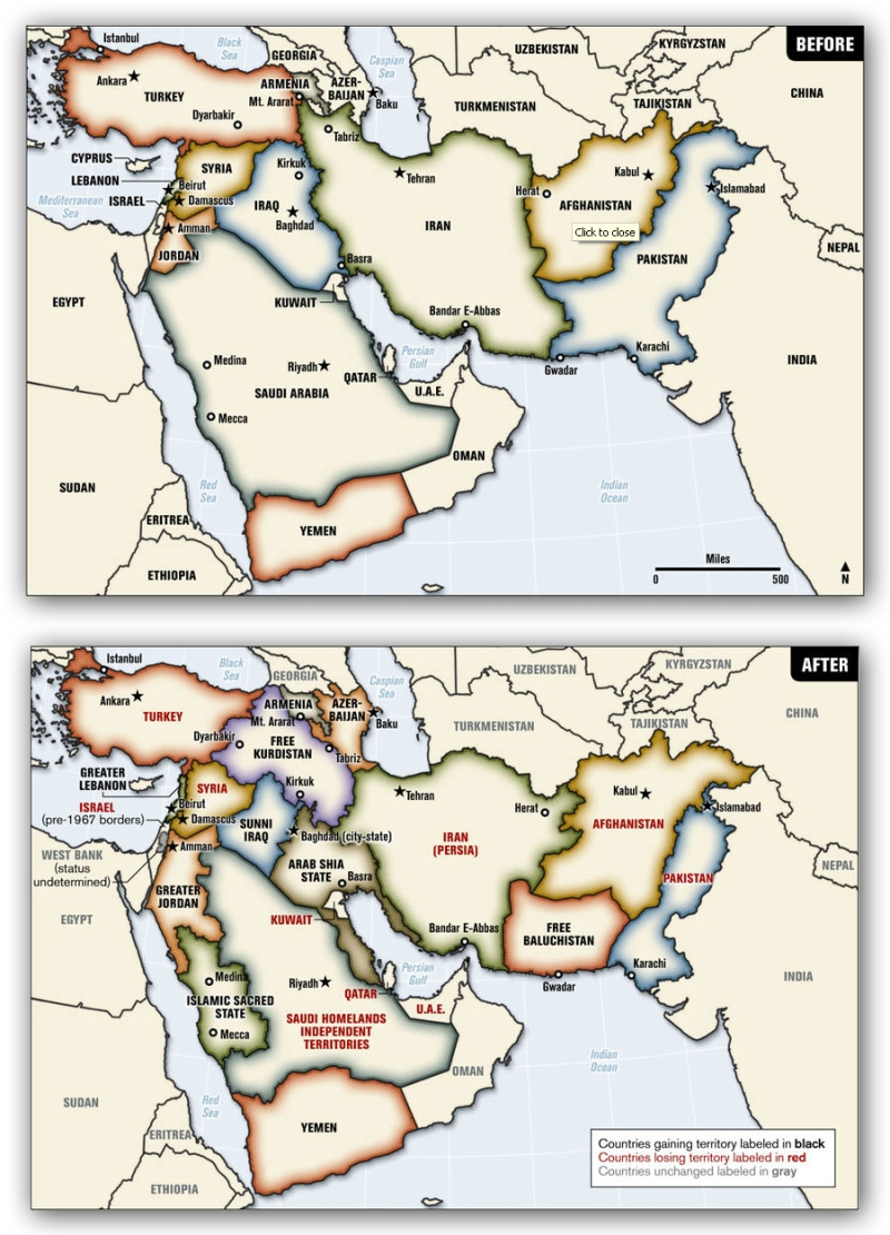 Ralph Peters Map