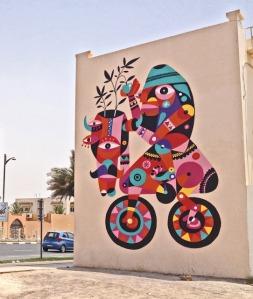 Ruben Sanchez- Bicycamel. Dubai, 2013